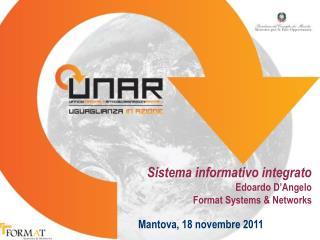 Sistema informativo integrato Edoardo D'Angelo Format Systems & Networks