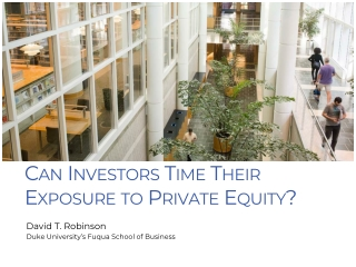 Private Equity Challenges in Exit