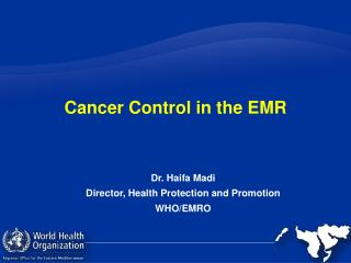 Cancer Control in the EMR