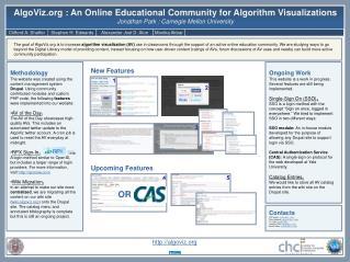 AlgoViz : An Online Educational Community for Algorithm Visualizations