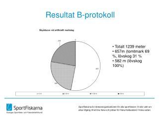 Resultat B-protokoll