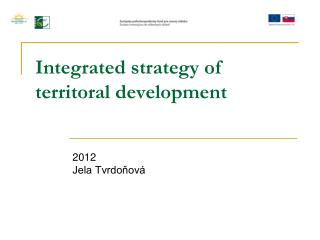 Integrated strategy of territoral development
