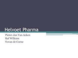 Helvoet  Pharma