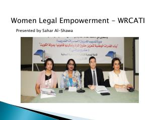 Women Legal Empowerment - WRCATI