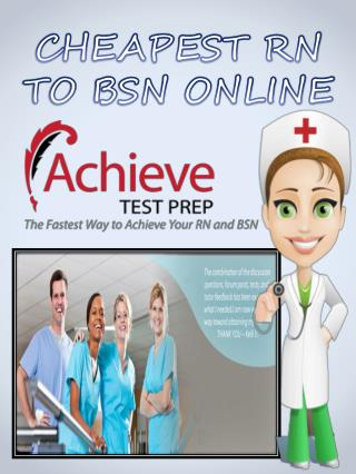Indiana State University LPN To BSN Online