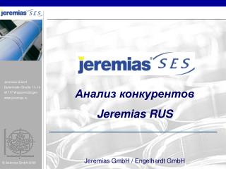 ?????? ???????????  Jeremias RUS  Jeremias GmbH / Engelhardt GmbH 1 6 .04.2010