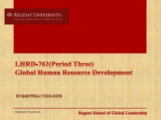 Regent School of Global Leadership