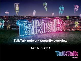 TalkTalk network security overview