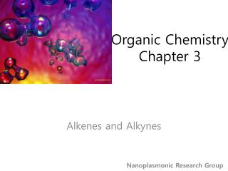 Organic Chemistry Chapter 3