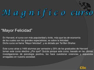 �Mayor Felicidad�