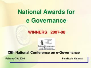 XIth National Conference on e-Governance