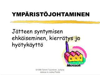 YMP RIST JOHTAMINEN