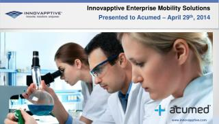 Innovapptive Enterprise Mobility Solutions