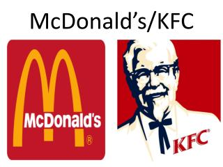 McDonald's/KFC