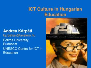 ICT Culture in Hungarian Education