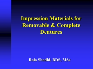 LABORATORY STEPS IN FABRICATING COMPLETE DENTURE.