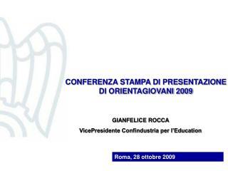 Roma, 28 ottobre 2009