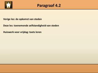Paragraaf 4.2