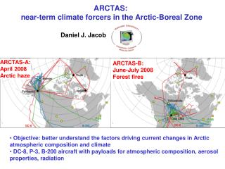 ARCTAS:  near-term climate forcers in the Arctic-Boreal Zone