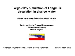 Large-eddy simulation of Langmuir circulation in shallow water