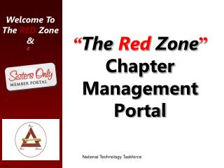 """"""" The  Red  Zone """" Chapter Management Portal"""