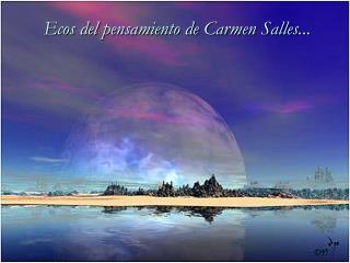 Ecos del pensamiento de Carmen Salles ...