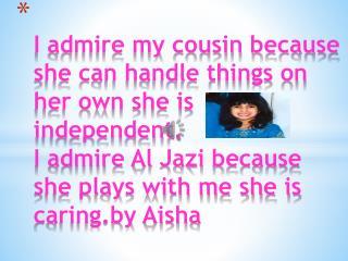 who i admire