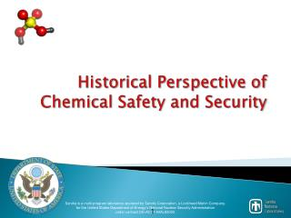 Historical Perspective of Chemical Safety and Security