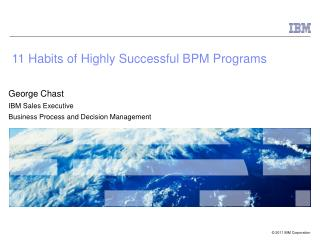 11 Habits of Highly Successful BPM Programs