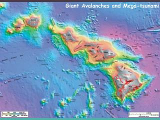 Giant Avalanches and Mega-tsunami (not)