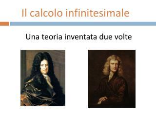 Una teoria inventata due volte