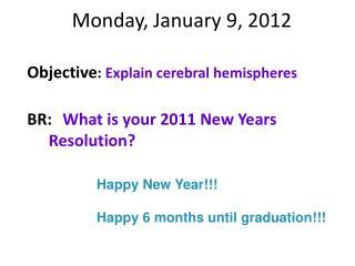 Monday, January 9, 2012