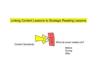 Linking Content Lessons to Strategic Reading Lessons