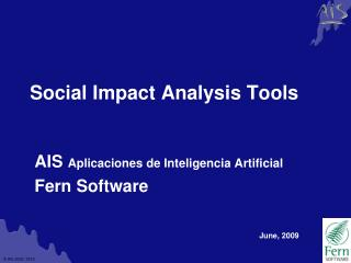 Social Impact Analysis Tools