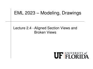 EML  2023 – Modeling, Drawings