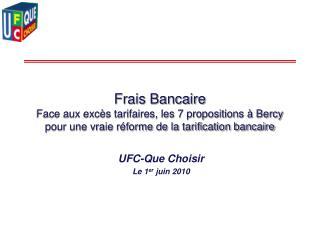 Frais Bancaire  Face aux exc s tarifaires, les 7 propositions   Bercy pour une vraie r forme de la tarification bancaire