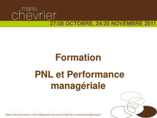 Formation  PNL et Performance managériale