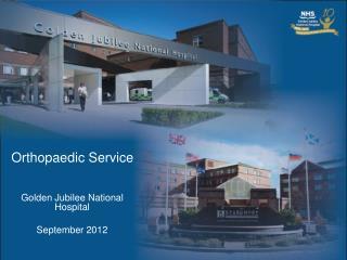 Orthopaedic Service