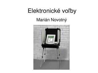 Elektronick é voľby