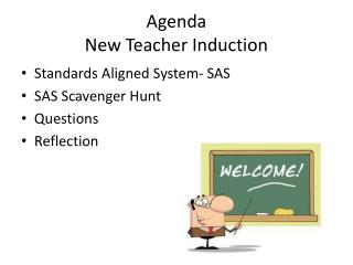 Agenda New Teacher Induction