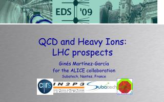 QCD and Heavy Ions:  LHC prospects