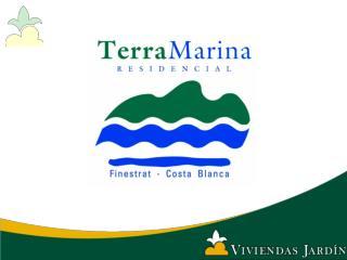TERRAMARINA, FINESTRAT  Por encima del nivel del mar