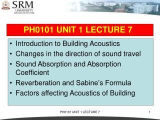 PH0101 UNIT 1 LECTURE 7