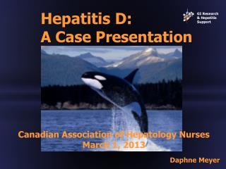 Hepatitis D: A Case Presentation