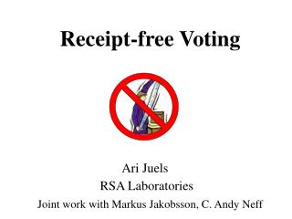 Receipt-free Voting