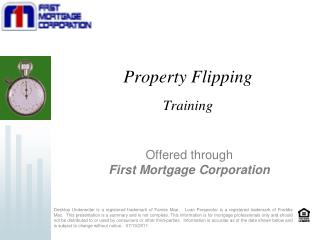 Property Flipping Training