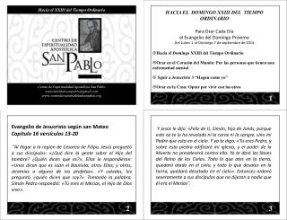 Centro de Espiritualidad Apost�lica San Pablo espiritualidad.sanpablo@gmail