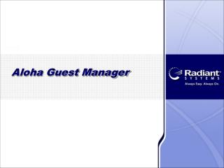 Aloha Guest Manager
