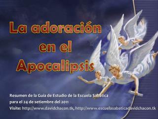 La  adoración en  el Apocalipsis