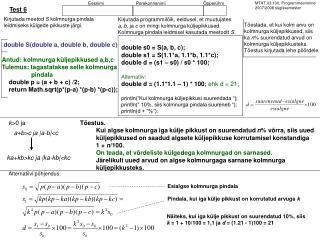 MTAT.03.100. Programmeerimine 2007/2008 sügissemester